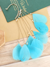 Load image into Gallery viewer, Superb Temperament Exaggerated Bohemian Long Tassel Female Non Pierced Earrings