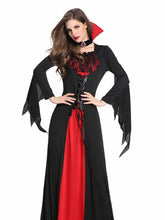Load image into Gallery viewer, Cosplay Costumes Black Halloween EasterHorror Game Dresses In Women Girls Halloween Vampire Demon Performance Playing Costumes
