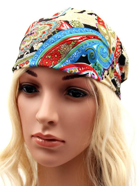 Hair Beauty Bohemian Chiffon Yoga  Headband Headwear
