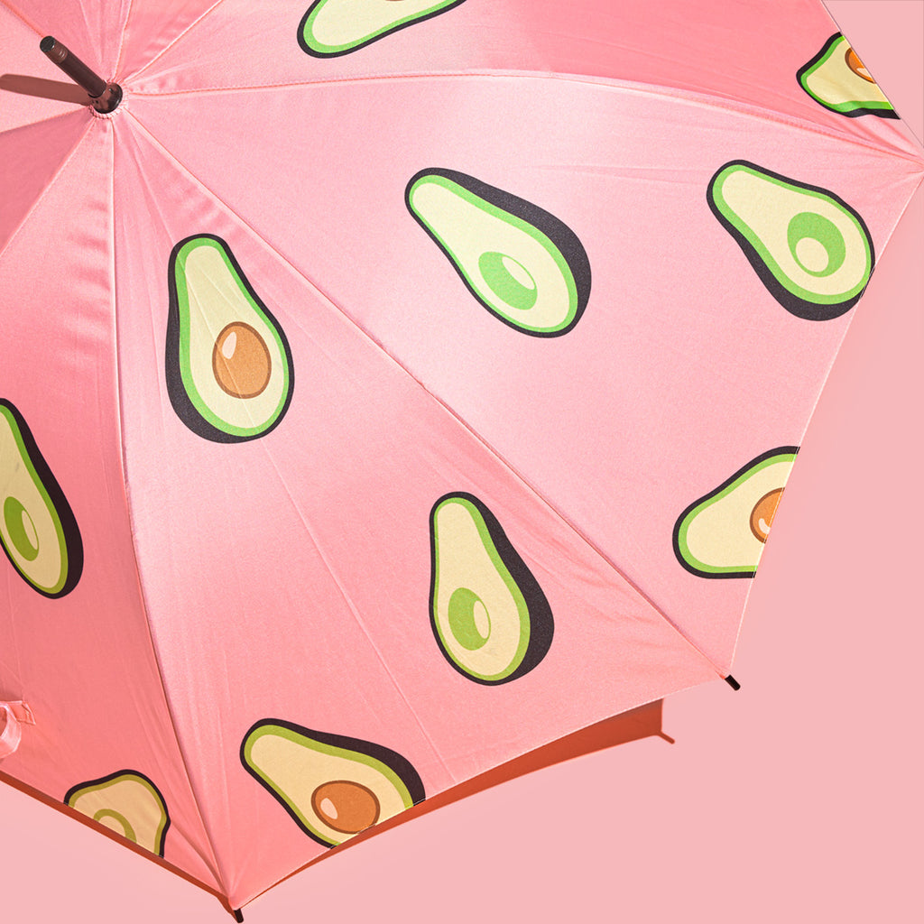 The Avocado Show Umbrella (Pink)