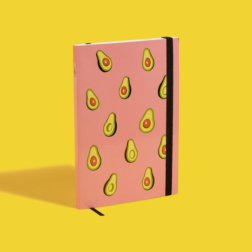 Pink Avocado Show Notebook