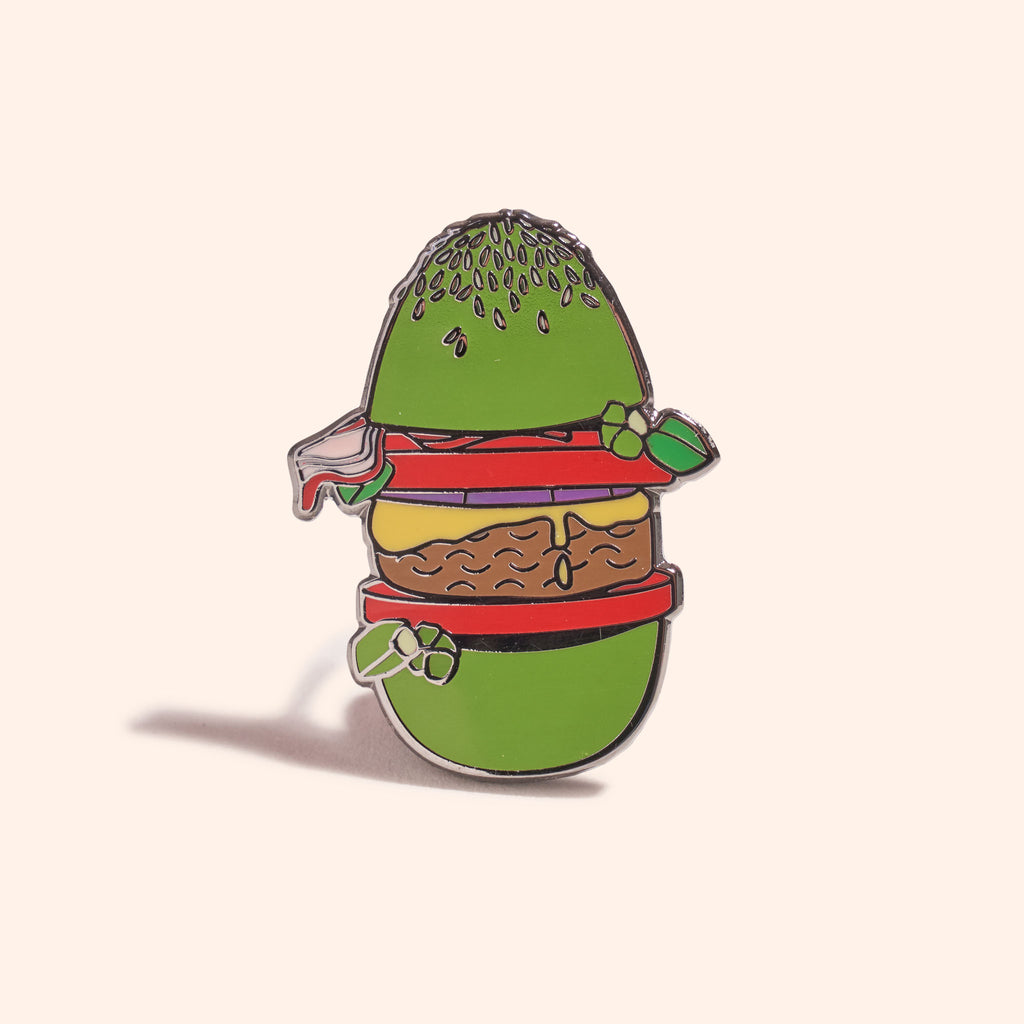Bun Burger Pin