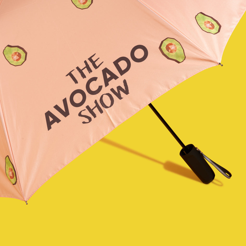 Pink Avo Icon Umbrella