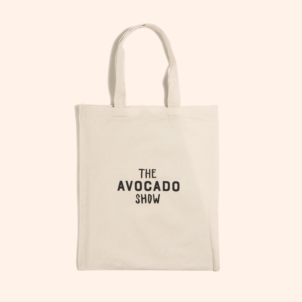 Cream Avocado Show Canvas Tote Bag