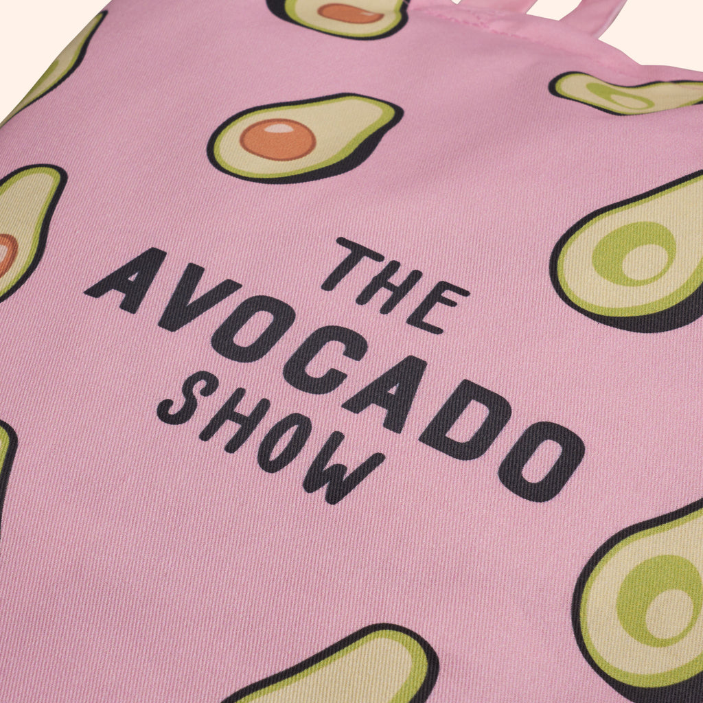 Pink All Avo Tote Bag
