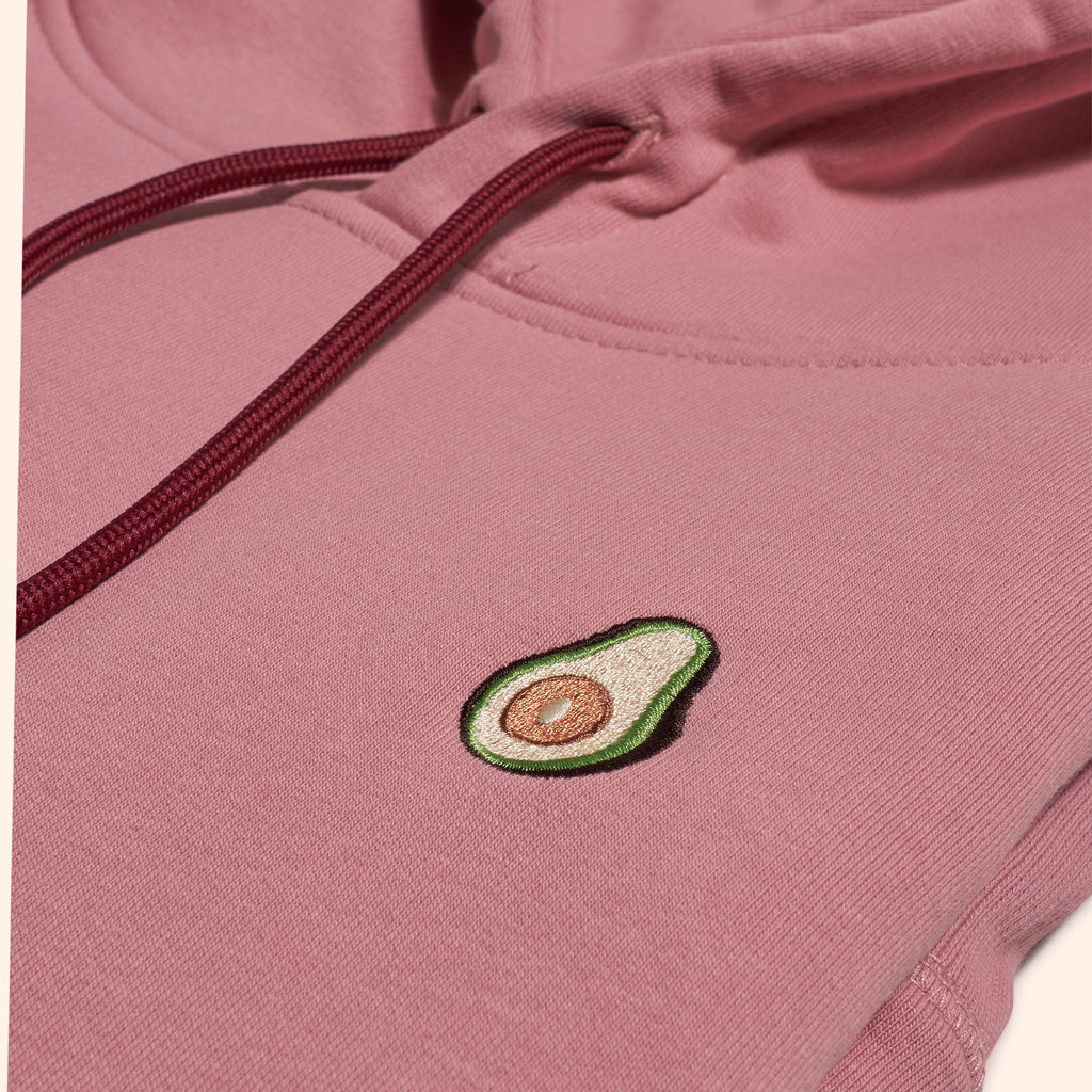 Pink Avo Icon Hoodie