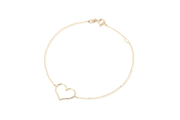 Love bracelet yellow gold 9kt