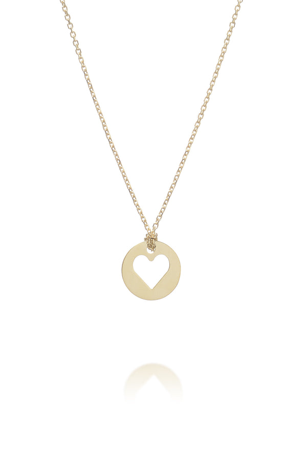 Friendship heart necklace