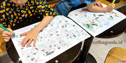 boy and girl coloring activity sheet popular goods from coffeegoodsid - SENIIKU