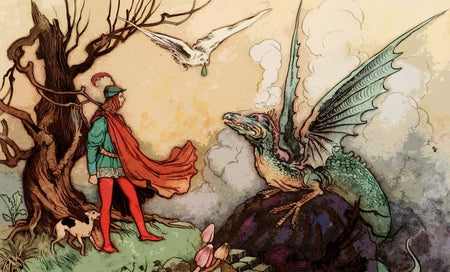 fairy-tale-dragon-prince-illustration collection - artatler marketplace - 1024x620