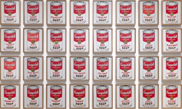 Campbells-Soup-Cans-Andy-Warhol-pop-art-What-is-modern-art-top-20-Blogs-SENIIKU-Market