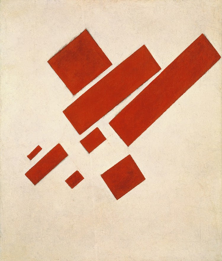 Eight-Red-Rectangles-Kazimir-Malevich-Suprematism-What-is-modern-art-top-20-Blogs-SENIIKU-Market
