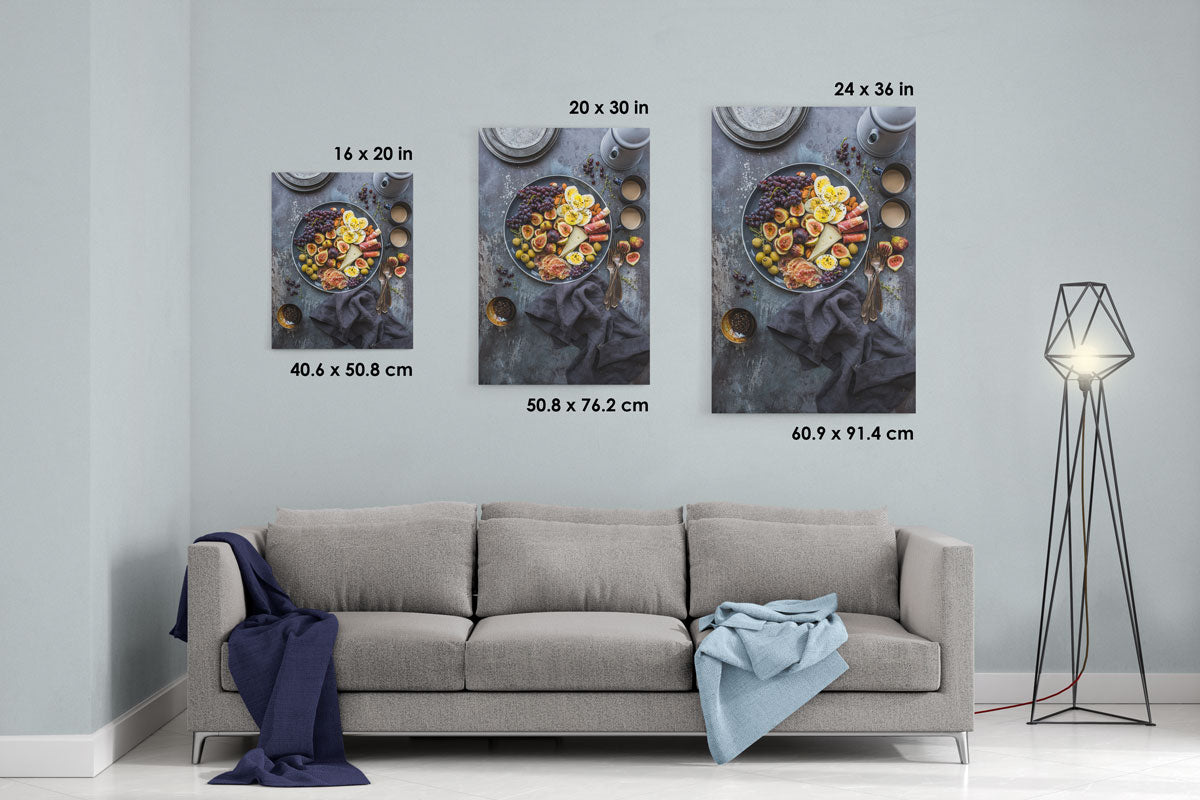 Fruit-Plates-Composition-Canvas-Mock-Up-16x20-20x30-24x36-Artatler-International-Art-Gallery
