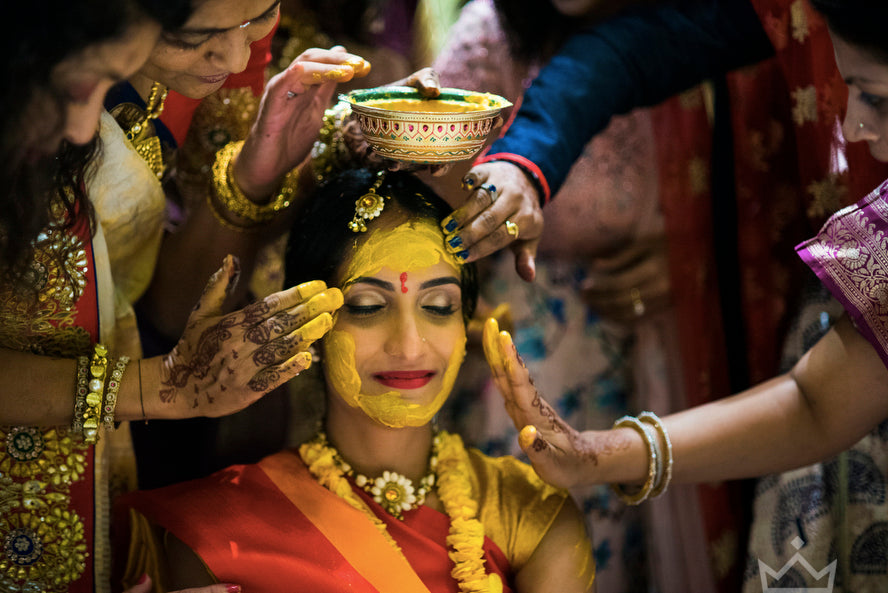 Haldi-Paste-Blessings-For-Indian-Bride-Wedding-Jeff-ONeal-Photography-ASENIIKU Creator Marketplace