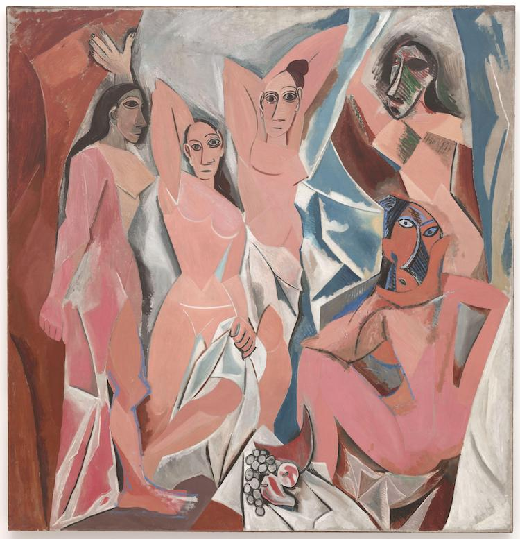 Les-Demoiselles-dAvignon-Pablo-Picasso-cubism-What-is-modern-art-top-20-Blogs-SENIIKU-Market