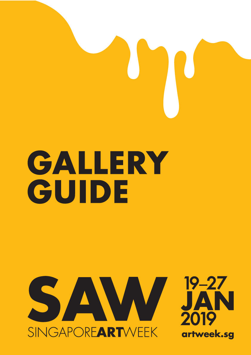 SAW Singapore Art Week 2019 Gallery Guide Cover - SENIIKU Art Market Asia