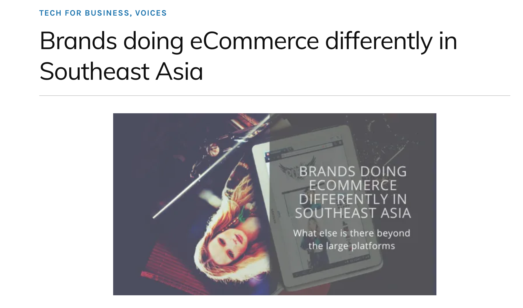 Brands of ecommerce in Southeast Asia | SENIIKU Market