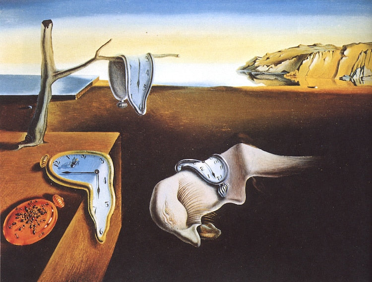 The-persistence-of-memory-salvador-dali-surrealism-What-is-modern-art-top-20-Blogs-SENIIKU-Market