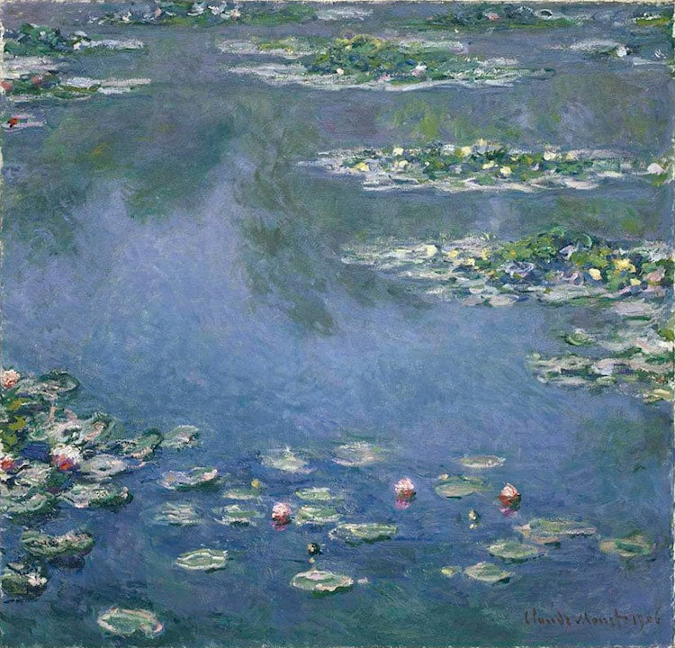 Water-Lilies-Claude-Monet-Impressionism-What-is-modern-art-top-20-Blogs-SENIIKU- Market