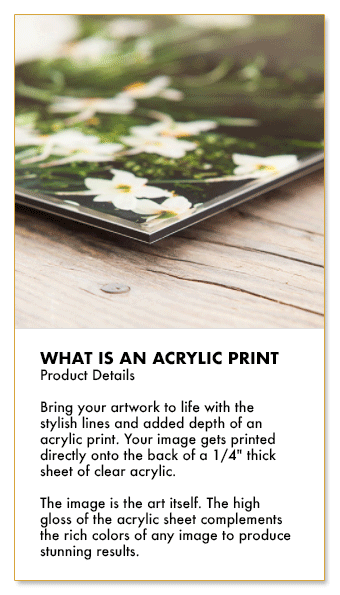 Showcase your artworks as acrylic prints - What is acrylic print - Sell online with Artatler International Gallery