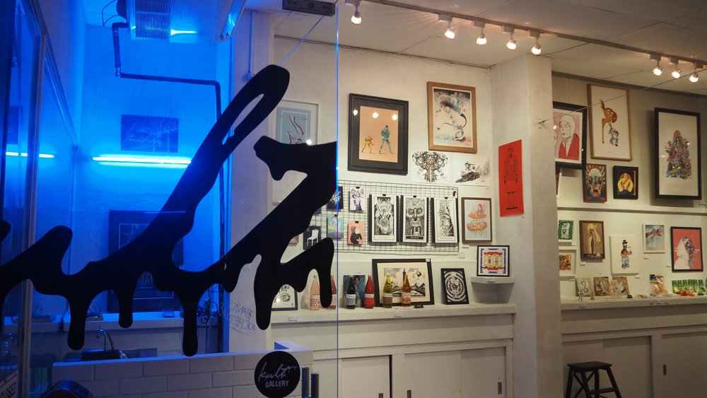 kult gallery art gallery in singapore photo by kult online SENIIKU Market