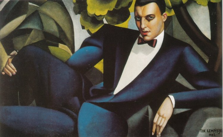 portrait-of-the-marquis-d-afflito-Tamara-de-Lempicka-Art-Deco-What-is-modern-art-top-20-art-movements-Blogs-SENIIKU-Market