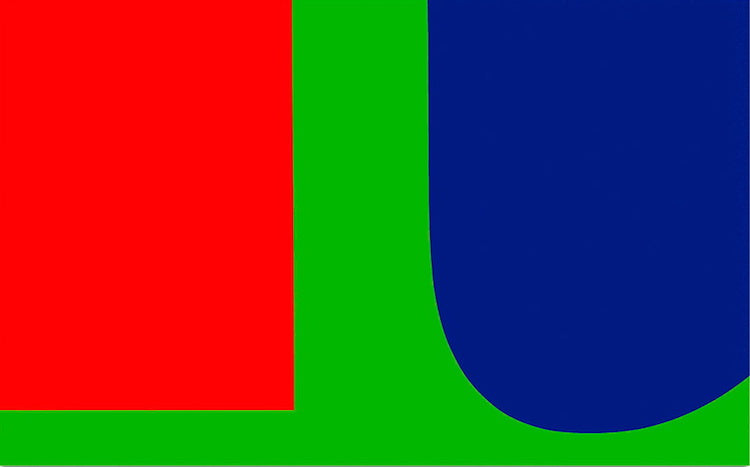red-blue-green-ellsworth-kelly-minimalism-What-is-modern-art-top-20-art-movements-Blogs-SENIIKU-Market