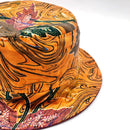 Pumpkin Batik Bucket Hat