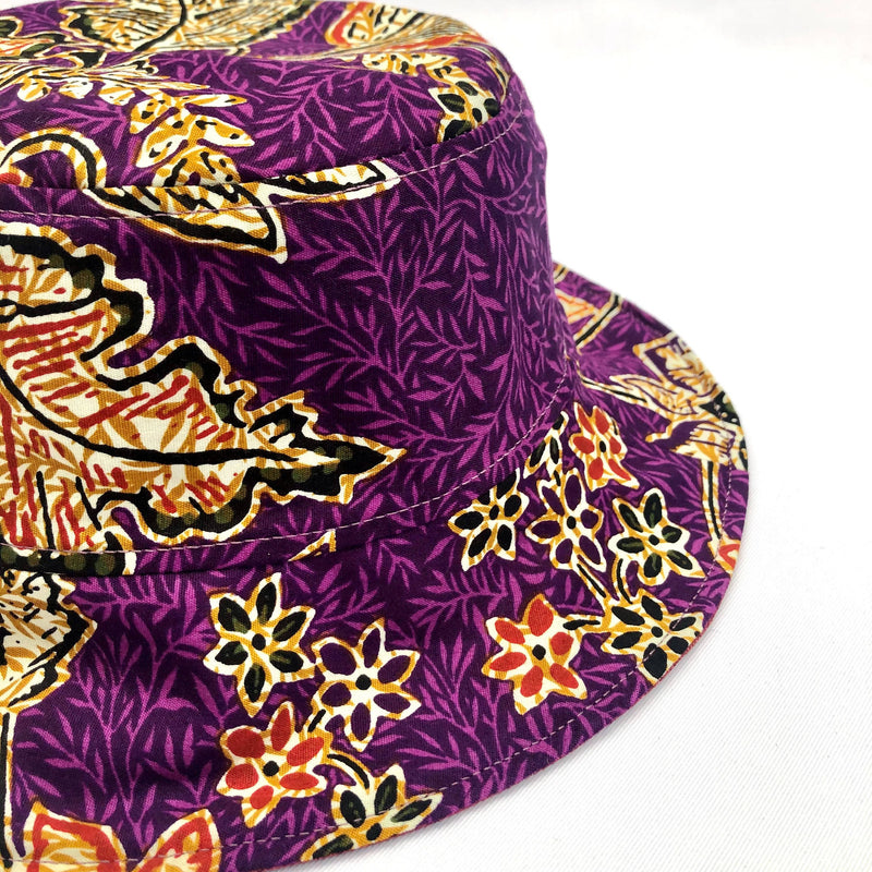 Poppy Batik Bucket Hat