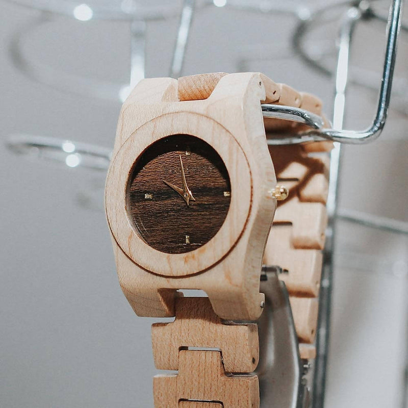 Ebony - Wooden Watch
