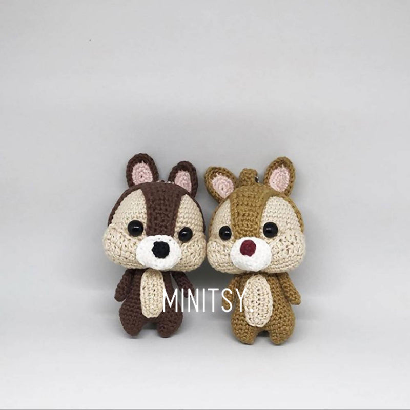 Disney Chip and Dale Amigurumi Crochet Doll