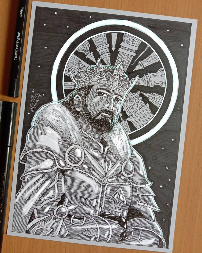 Creative Drawing Services - King Ilustration