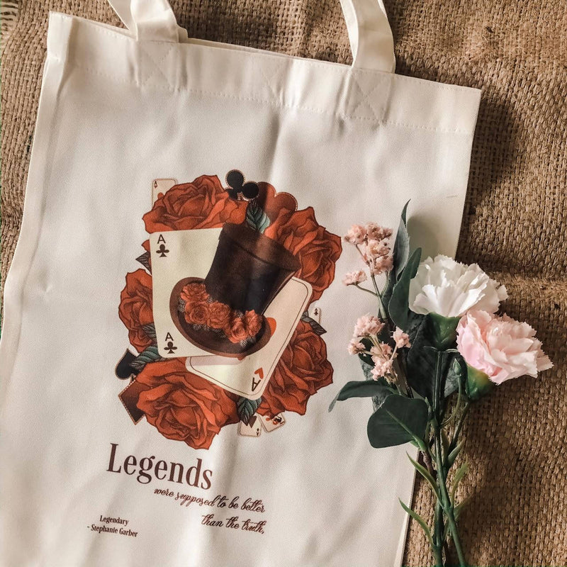 Fandom Tote Bag - Legendary from Caraval Series