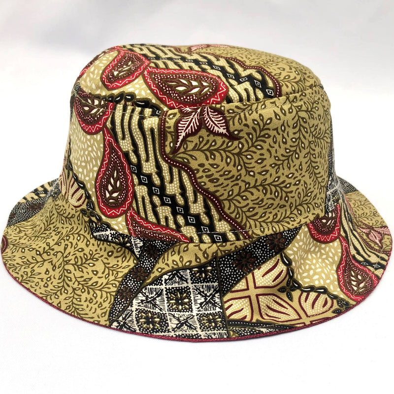 Biscuit Batik Bucket Hat