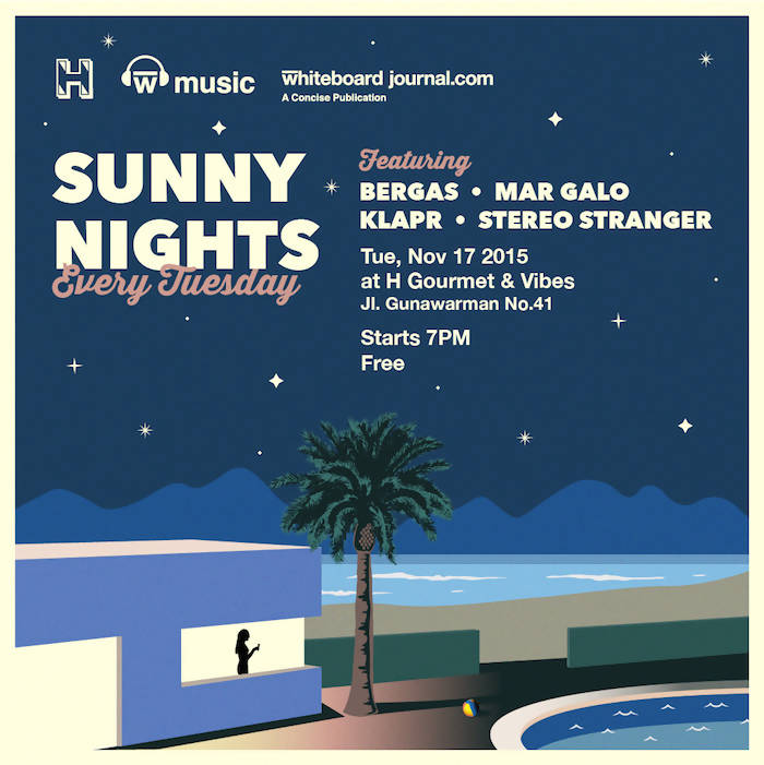 Sunny Nights by W Music E-Flyer