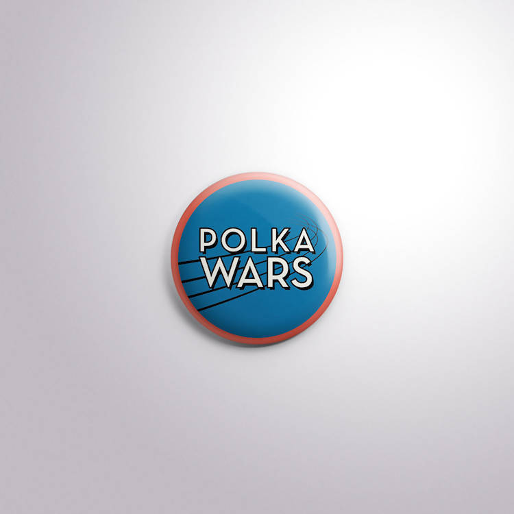Polka Wars Design for Tshirt and Media Print