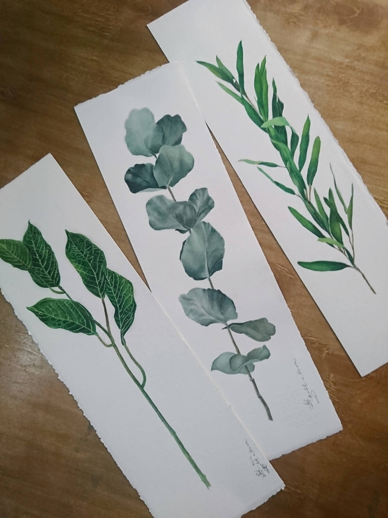 Botanical Watercolor painting 1