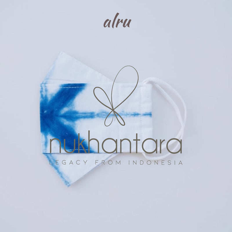 Shibori Fabric Mask - Alru