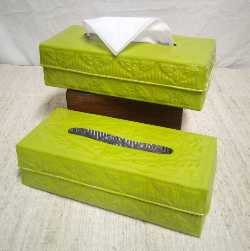 Tissue Holder Rectangle Aluminium
