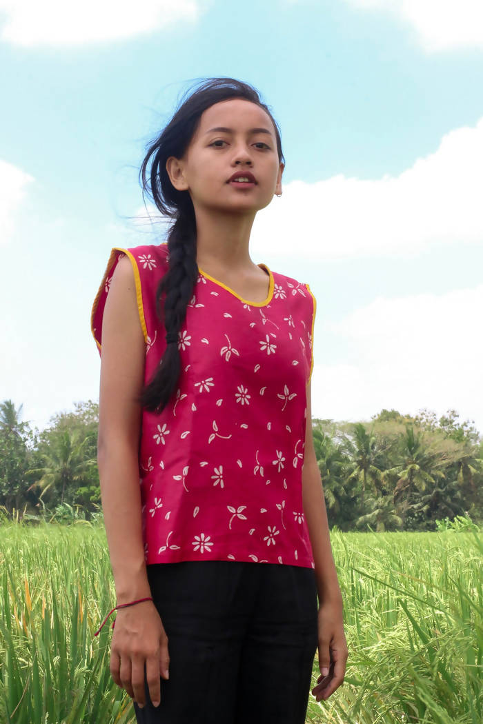 Top Sleeveless Batik