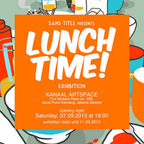 E-Poster and Banner for Lunch Time! Exhibition