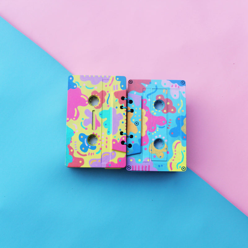 Mixtape - Mini Notebook (Pattern)