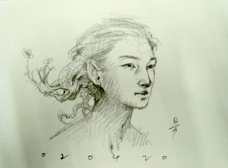 Anthonie Chong's Drawings @ Sketches