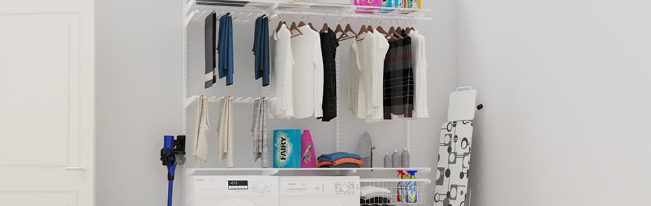*Laundry and Utility Storage