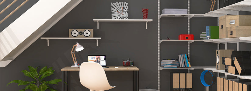 *Home Office Shelving and Storage