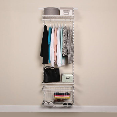 Put a clothing rack in the corner of your room