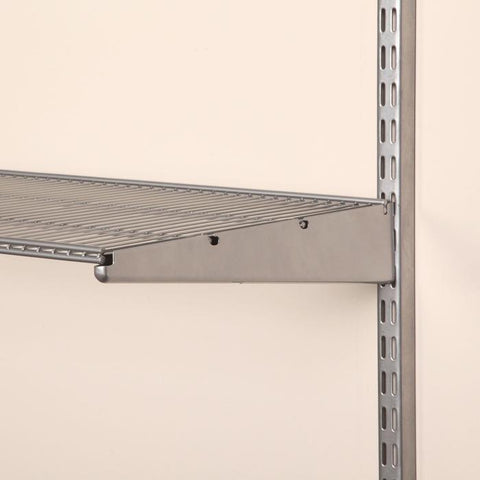 Install floating shelves around the perimeter of your room