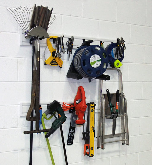 Garage Storage Wall Rack Kit (18 Piece)