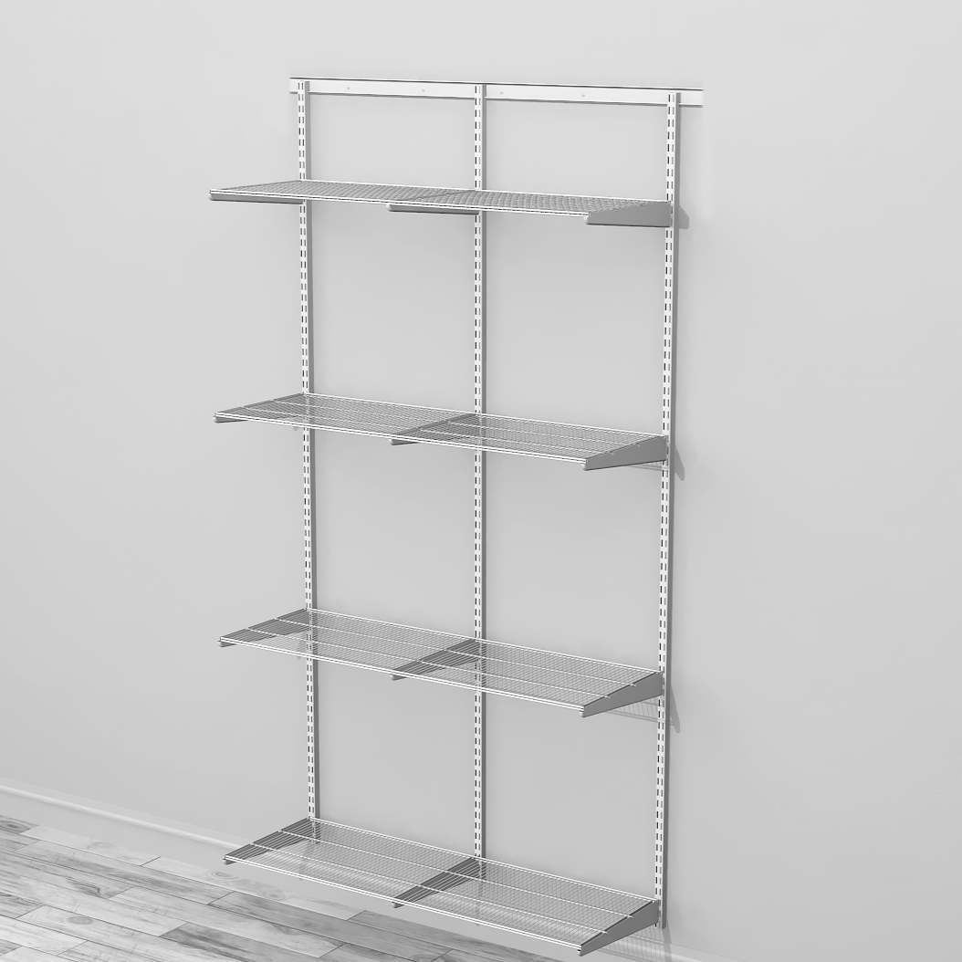 Adaptable Shelving Kit 3 Classic White