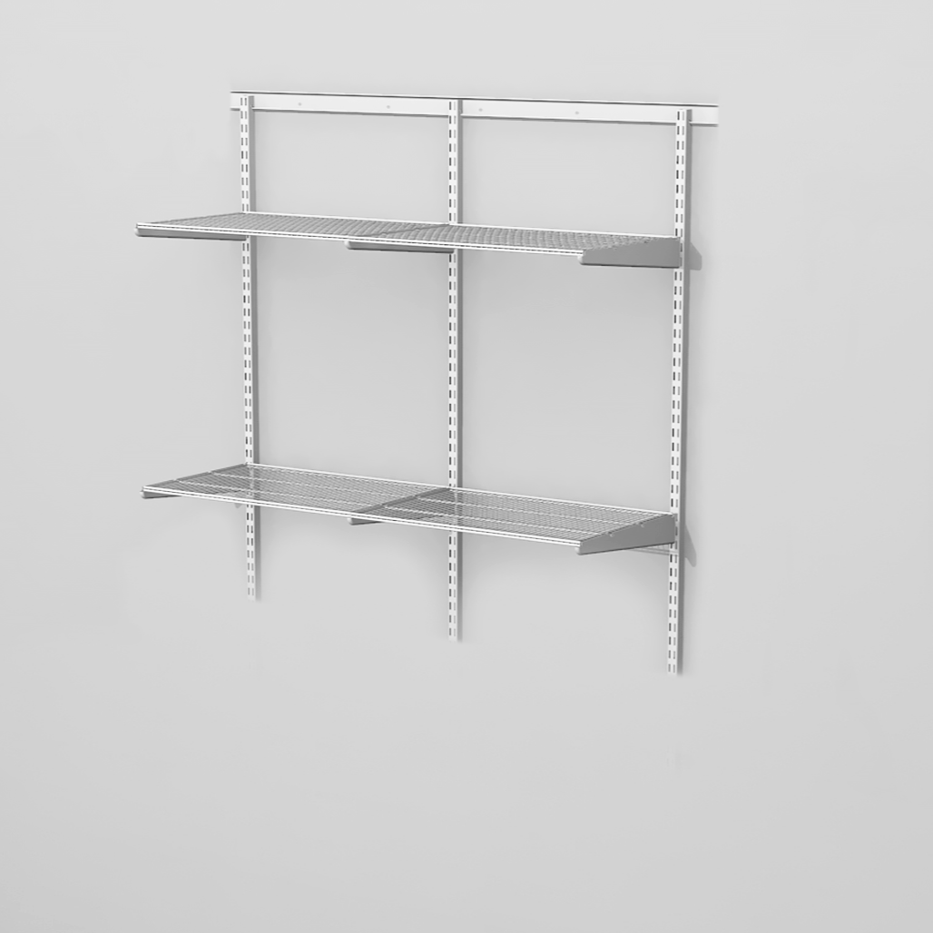 Adaptable Shelving Kit 7 Classic White